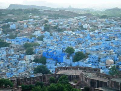 Jodhpur city from Mehrangarh Fort © P Vashistha