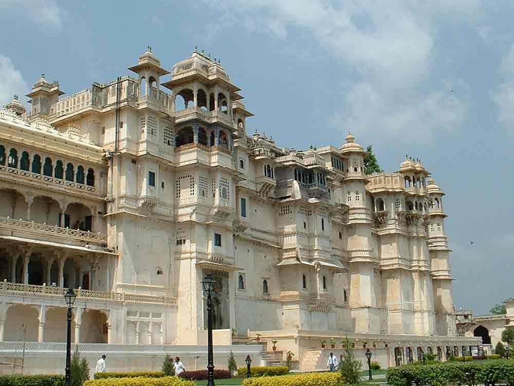 City Palace in Udaipur © P Vashistha