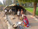 Family life in rural Panna © K Claydon