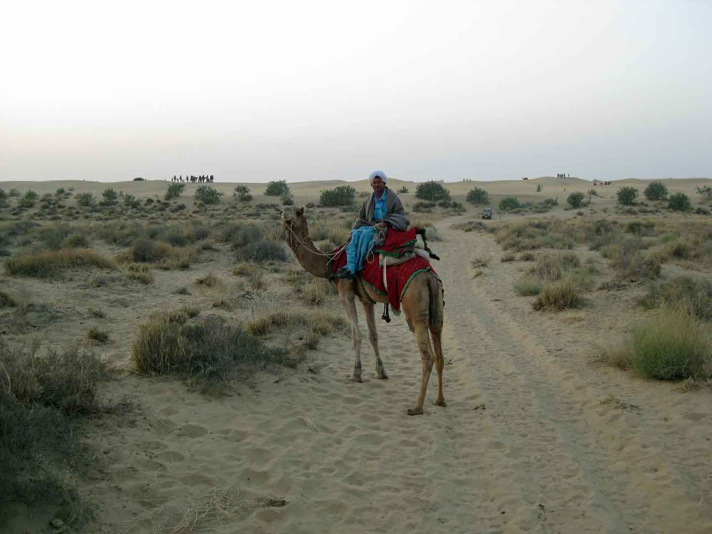 Sam Dunes near Jaisalmer camel trek © J S Bridges