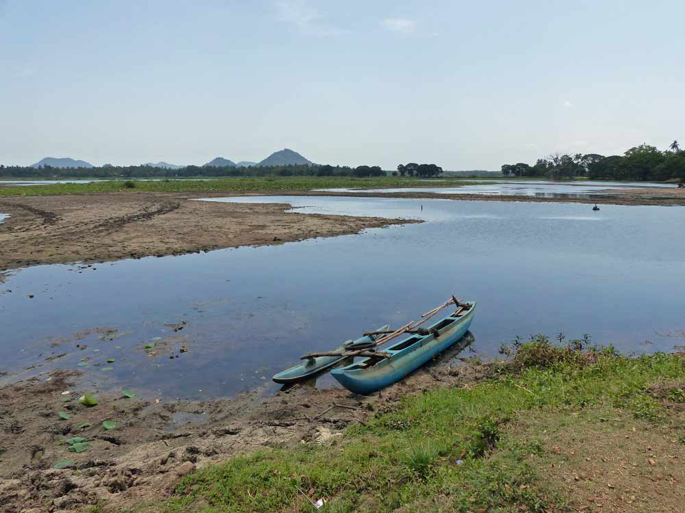 Reservoir (tank) near Tissa, Yala © J Thomas