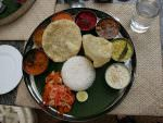 Traditional South Indian cuisine © J Thomas